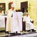 Misa en conmemoración del 176 aniversario de la Independencia Nacional en la Catedral Primada de América. Hoy/ Arismendy Lora