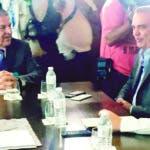 Eduardo Frei. jefe de la mision de la OEA junto a Luis Abinader. Hoy/Fuente Externa 17/02/20