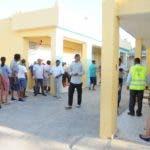 Elecciones Municipales 2020 / Recorrido por la provincia Santo Domingo. Andres, Boca Chica - Centro educativo Republica de Guyanas. 16-02-2020 Foto: Jose Adames Arias.