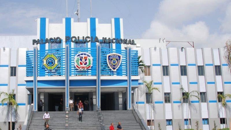 Fachada del Palacio de la Policía. Hoy/ Aracelis Mena. 10/06/2014