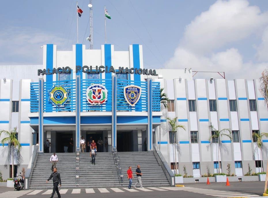 Fachada del Palacio de la Policía Nacional. Archivo