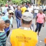 RECORRIDO EN EL MUNICIPIO DE LA VEGA DURANTE LAS ELECCIONES  MUNICIPALES 2020/HOY/CARLOS ALONZO/16/2/2020