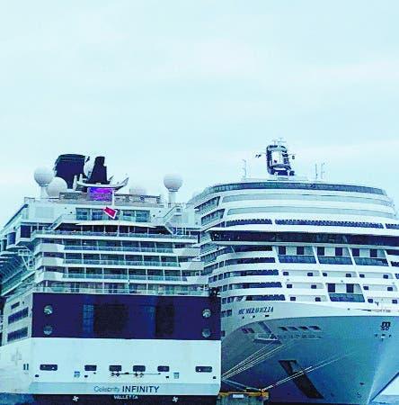 Investigan posibles casos de influenza en crucero Caribe