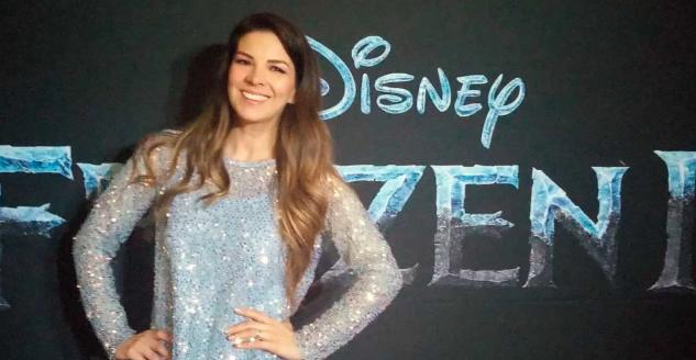 """Carmen Sarahí, una Elsa mexicana en los Óscar: """"Estoy soñando»"""