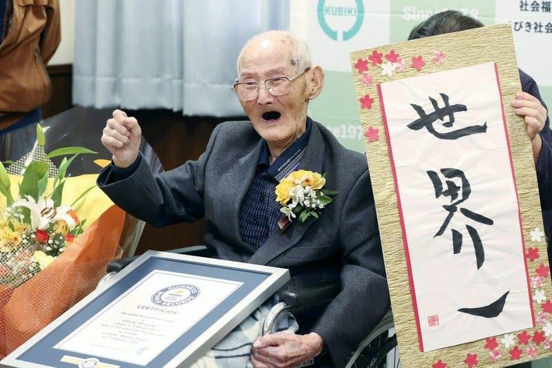 Muere Chitetsu Watanabe, el hombre más anciano del mundo 11 días después de recibir el Records Guinness