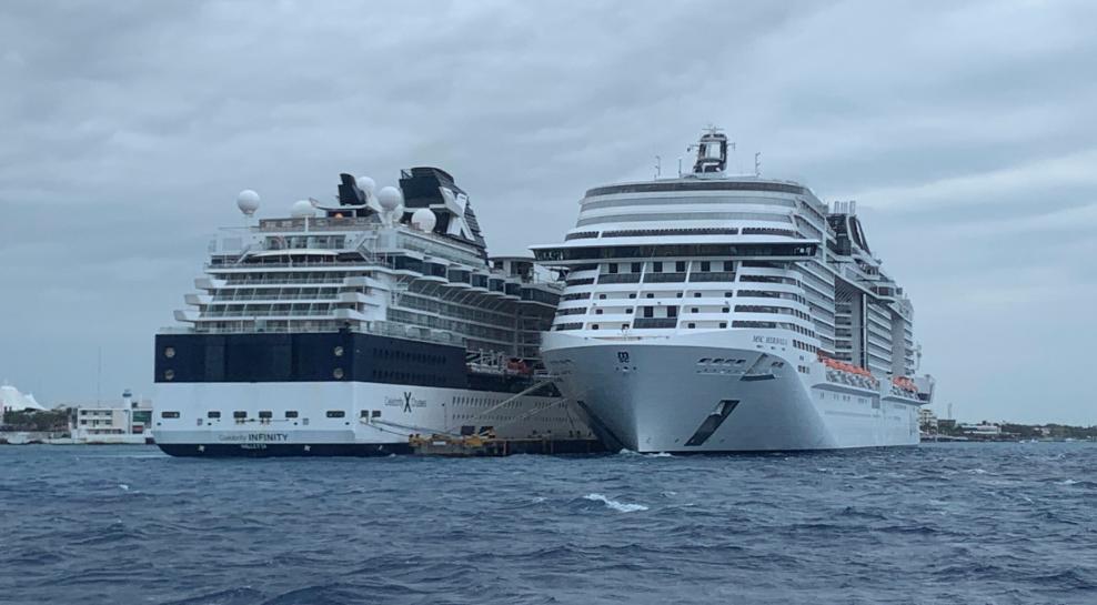 México permite atraque de crucero rechazado por dos países por temor a coronavirus