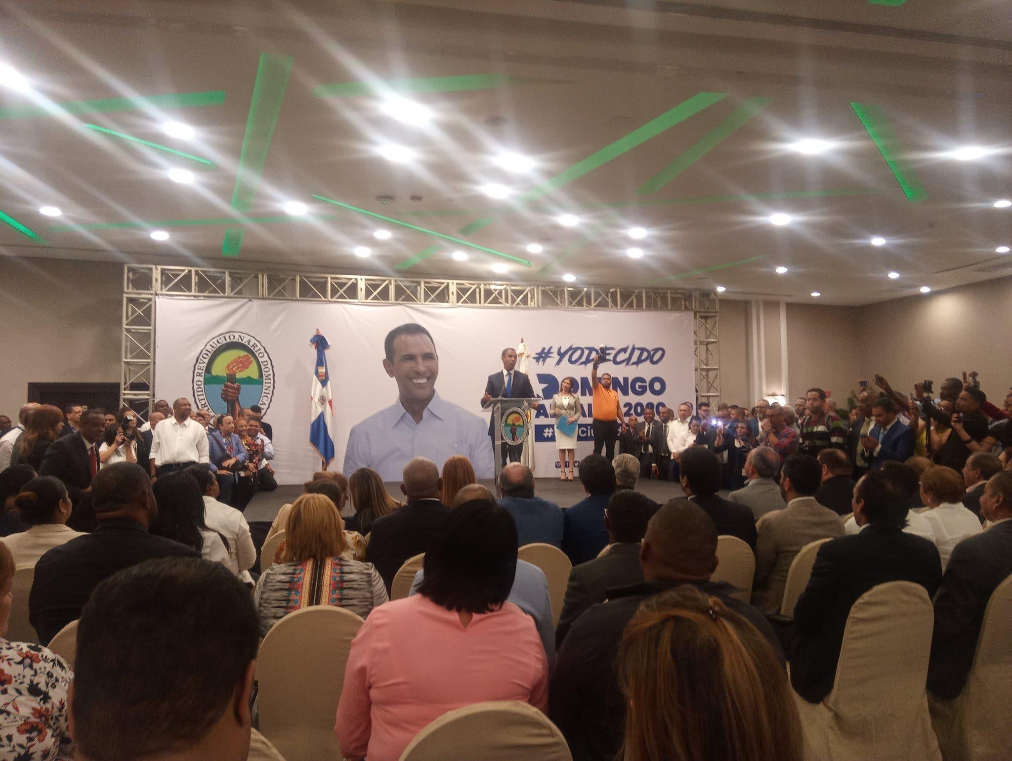 PRD llevará a Domingo Contreras como candidato a la Alcaldía tras renuncia de Hugo Beras