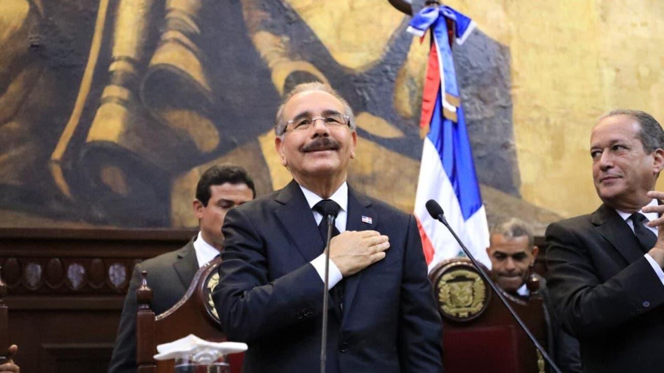 """Danilo Medina ante Asamblea Nacional: """"¡La República Dominicana ha demostrado en menos de ocho años que sí se puede!"""