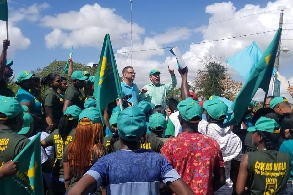 Guillermo Moreno sigue recorriendo el país en respaldo a candidaturas municipales