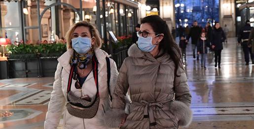 Italia alcanza 400 casos, 12 fallecidos, y ya hay 6 menores contagiados