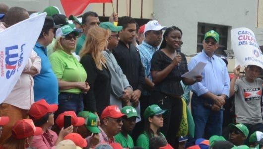 """Heidy Adón: """"Gane quien gane, después de agosto estaremos en la calle reclamando cárcel para los corruptos"""""""