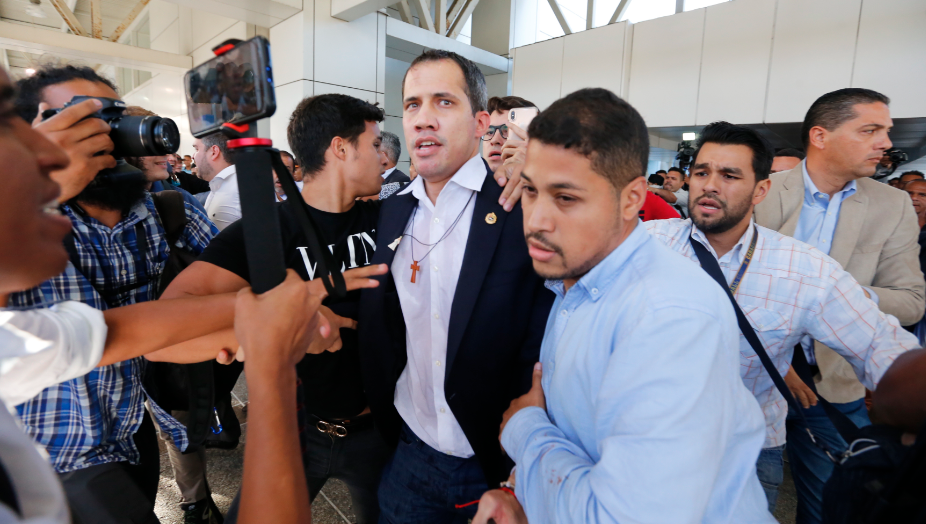 Guaidó vuelve a Venezuela después de gira internacional para ratificar apoyos