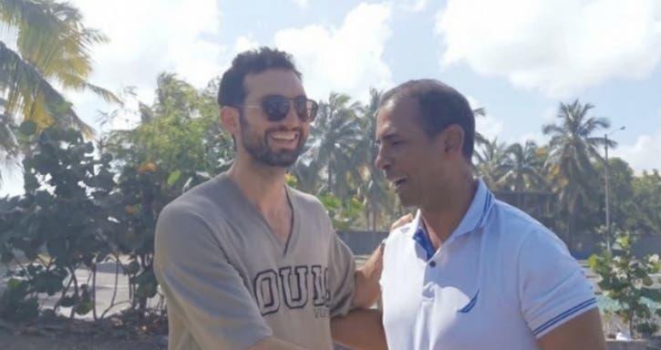 Video: Karim Abu Naba'a anuncia respaldo a Domingo Contreras