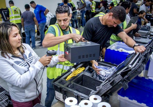 JCE inicia distribución de  9,757 kits del voto automatizado