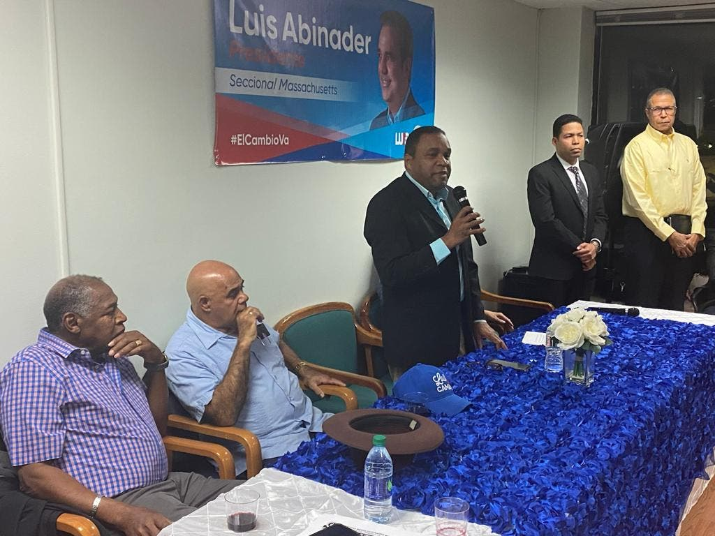 Coordinador de campaña de Luis Abinader en Boston llama diáspora a respaldar candidatos del cambio