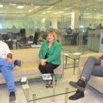 Entrevista en la redacción del periódico a María Luisa Montás /Hoy/11-02-2020/Ana Marmol.
