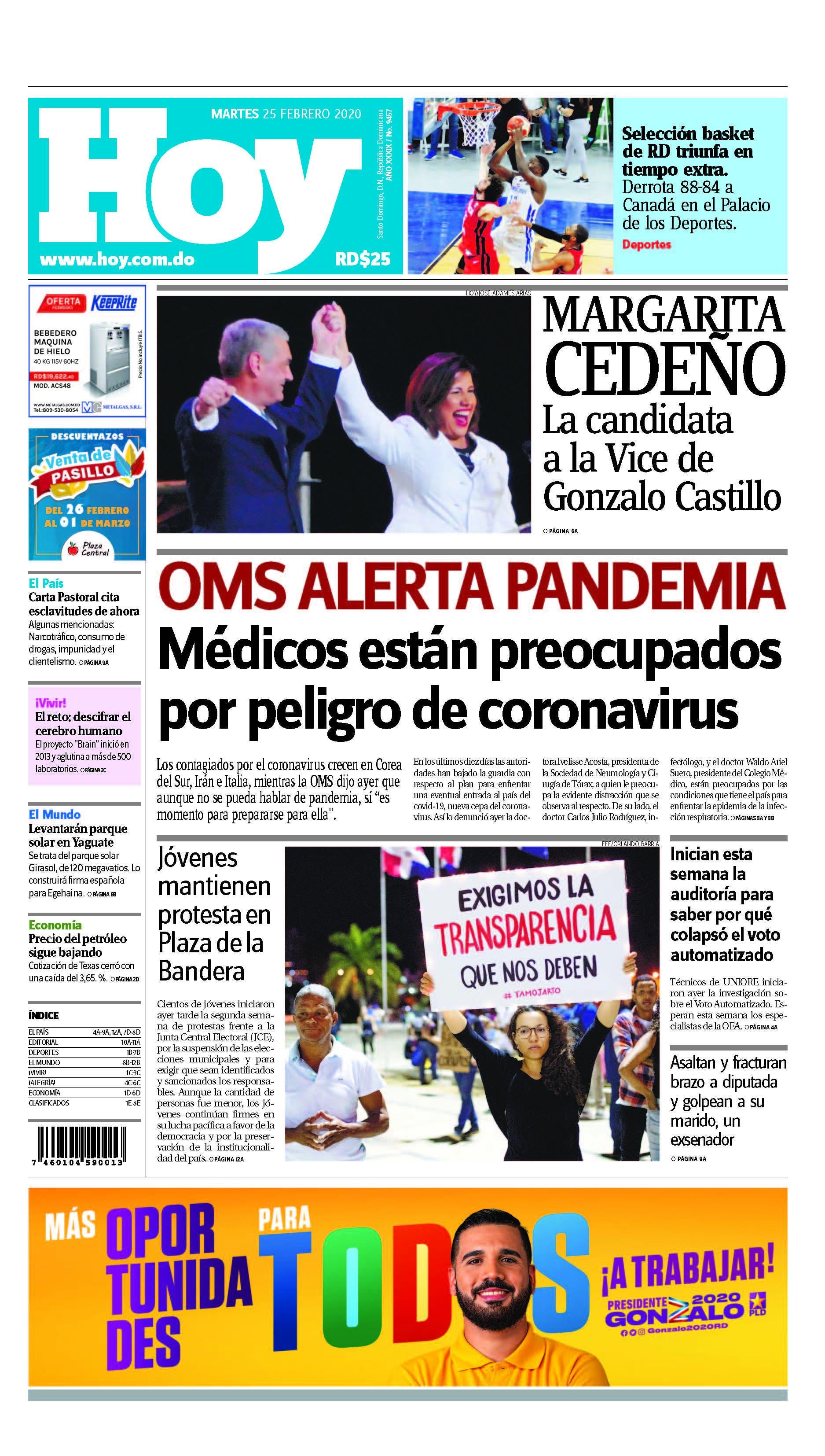 Pages from Edición impresa HOY martes 25 de febrero del 2020