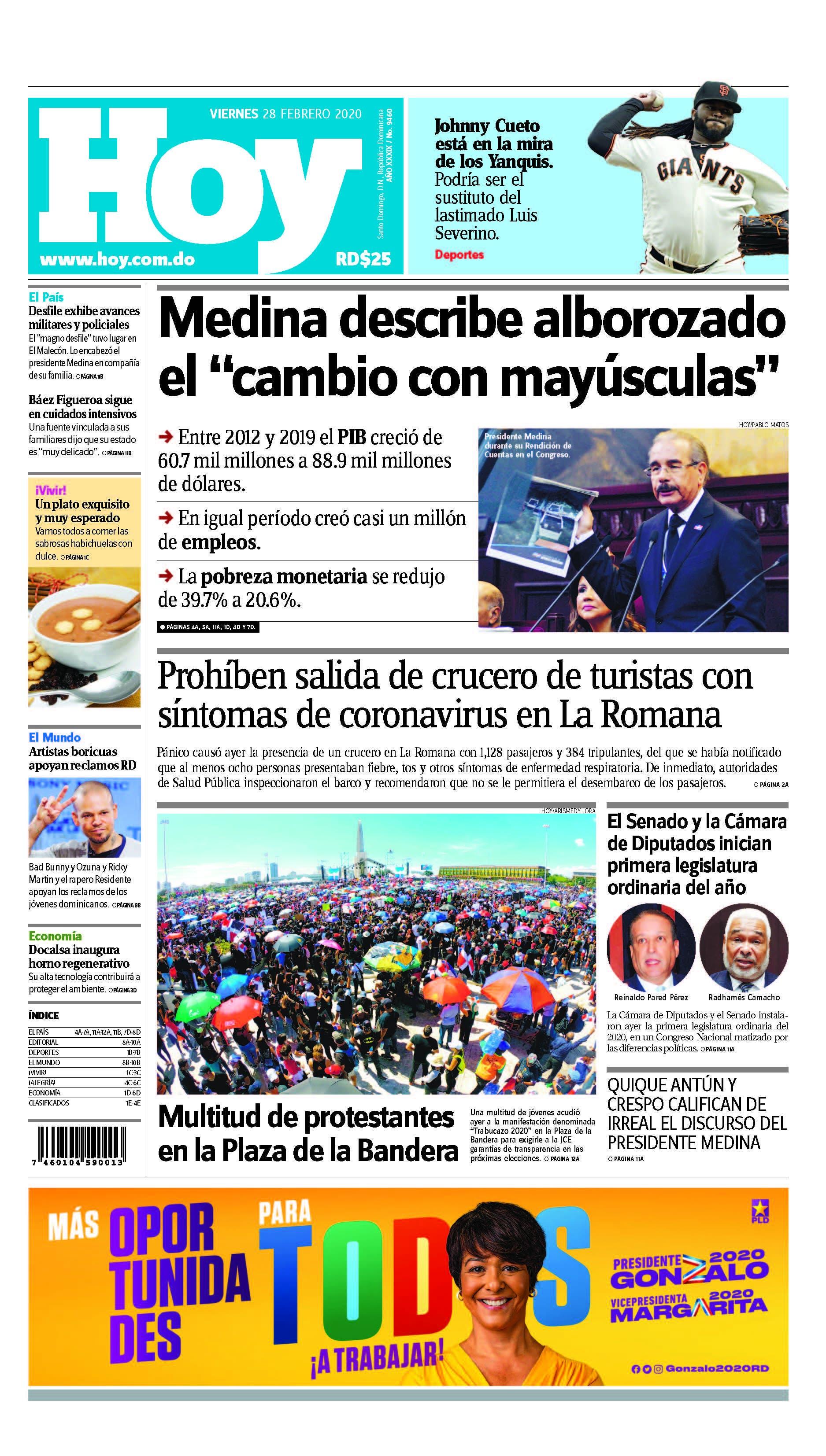 Pages from Edición impresa HOY viernes 28 de febrero del 2020