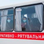 Ukrainian evacuees from China arrive in Kiev