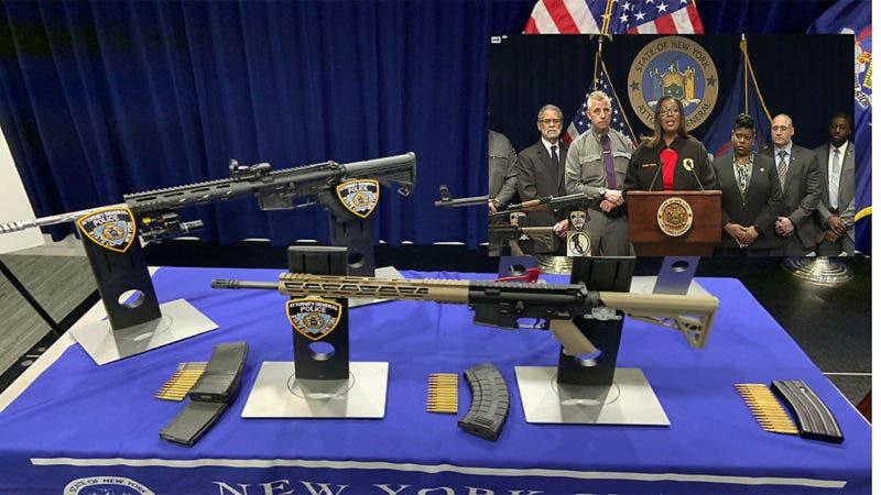 Presuntamente son dominicanos acusados de 107 cargos por vender armas y drogas en El Bronx