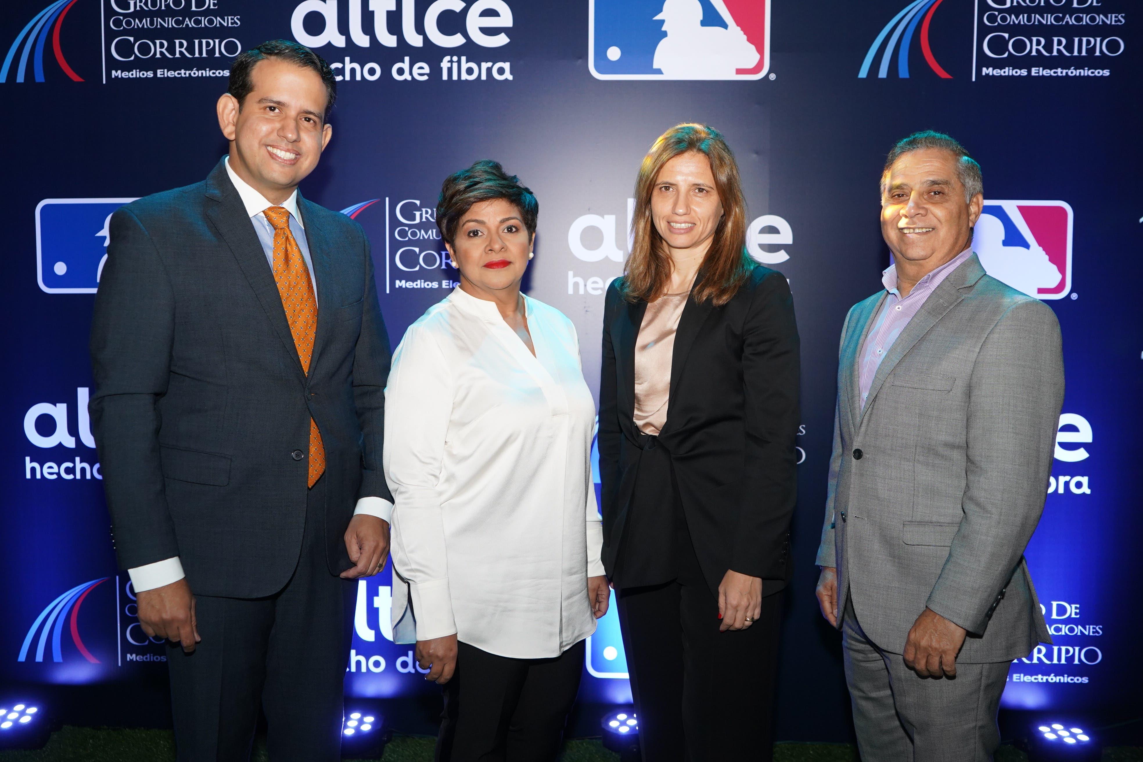 Altice y Grupo de Comunicaciones Corripio revelan detalles sobre comercialización de los juegos de la MLB