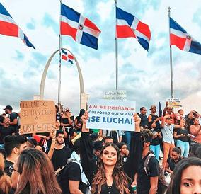 Dominicanos en otros países se unirán a protestas para «defender democracia»