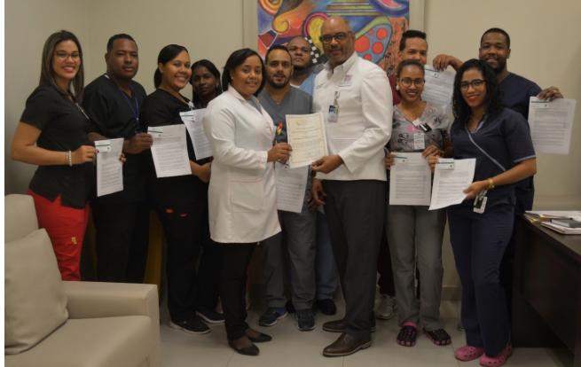 CNE certifica personal de radio proteccióndel hospital Reynaldo Almánzar
