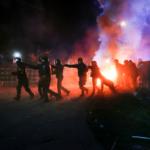 Las autoridades condenaron la violencia/AP