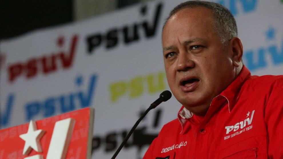 Video: Diosdado Cabello culpa al Gobierno dominicano de suspender las elecciones municipales porque iba a perder