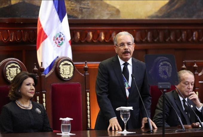 Gran dispositivo de seguridad en el Congreso Nacional ante rendición de cuenta de Danilo Medina