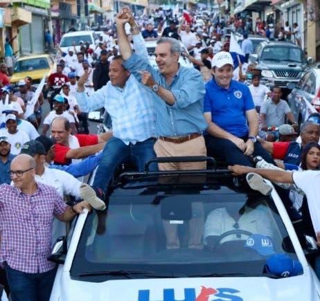 Luis Abinader cierra campaña municipal; el viernes dirige mensaje al electorado nacional