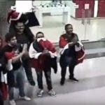 Jóvenes intentaron iniciar manifestación dentro del Metro.