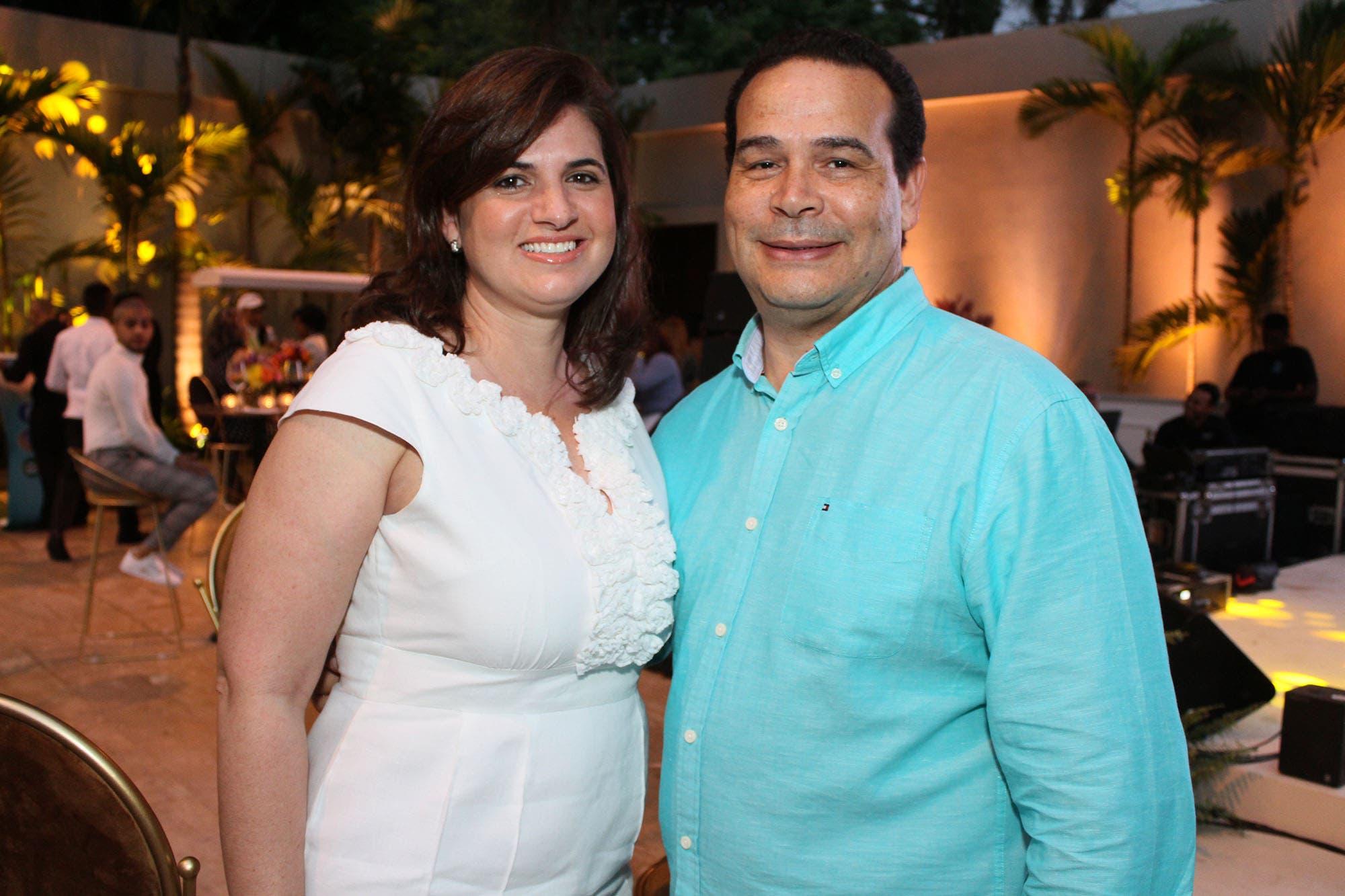 Cristiany Idalgo y José Galán.