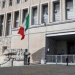 Italia pone sus banderas a media asta por coronavirus