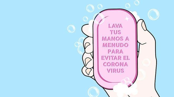 Covid-19: ¿Sabes qué le hace el jabón al virus?