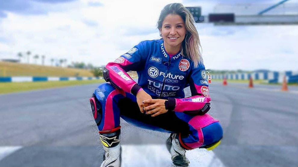 Muere la piloto dominicana Indiana Muñoz en carrera de SuperBike en Brasil