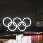 Tokyo (Japan).- (FILE) - The Olympic Rings monument is illuminated at Odaiba Marine Park as the Rainbow Bridge is illuminated in rainbow colours to commemorate half a year before the opening of the Tokyo 2020 Olympic Games in Tokyo, Japan, 24 January 2020 (re-issued on 24 March 2020). The International Olympic Committee (IOC) on 24 March 2020 announced that the Tokyo 2020 Olympic Games will be postponed to 2021 due to the ongoing coronavirus COVID-19 pandemic. (Abierto, Japón, Tokio) EFE/EPA/KIMIMASA MAYAMA *** Local Caption *** 55805198