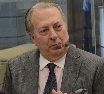 Invitado al coloquios del periódico el Día, Eduardo Selman, miembro del comité político del PLD y ministro de cultura/foto José de León