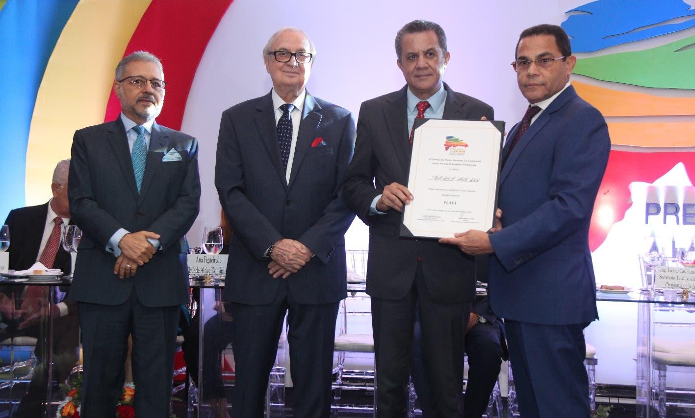 Corvi PVC obtiene Plata en Premio Nacional a la Calidad