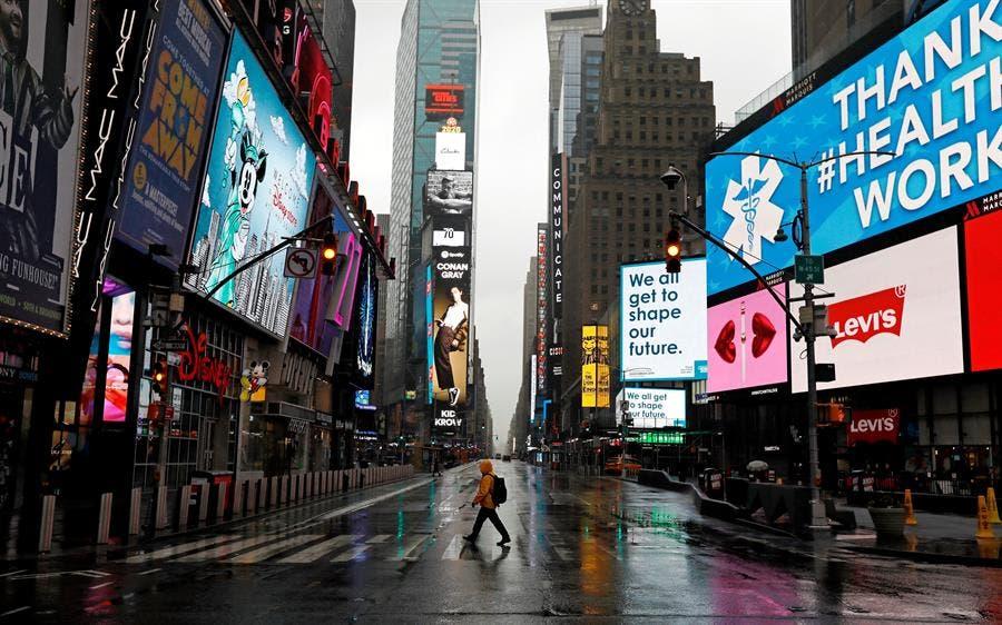 """Nueva York como nuevo epicentro del coronavirus afronta impacto """"catastrófico"""""""