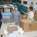 Gonzalo Castillo entrega  15,500 mascarillas a la Policía Nacional para enfrentar el coronavirus