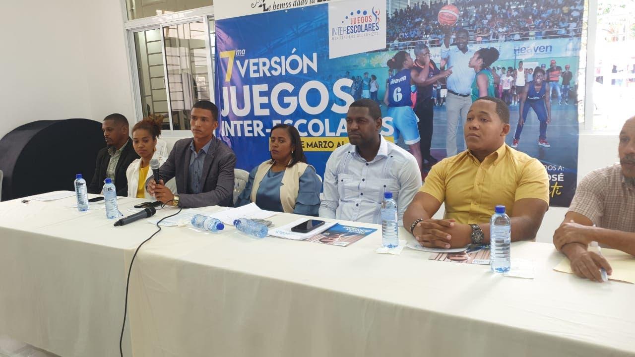 Anuncian séptima versión Juegos Inter-Escolares de Los Alcarrizos