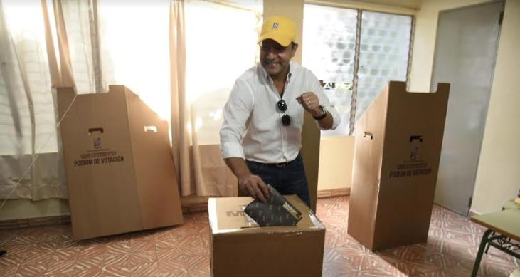 Alcalde Abel Martínez vaticina ganará con 20 puntos de ventaja