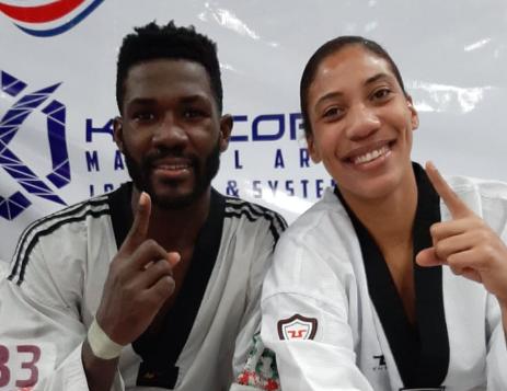 Bernardo Pie y Katherine Rodríguez clasifican para los Juegos Olímpicos Tokio 2020