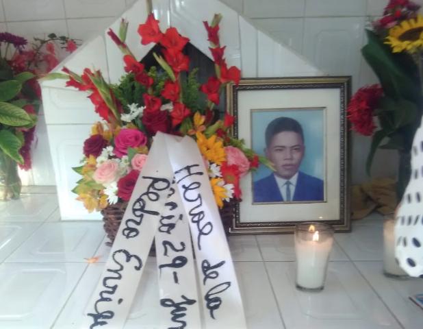 Realizan acto por 50 aniversario del asesinatodel héroe Pedro Enrique Melo López