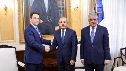 Carlos Trujillo, Danilo Medina, Miguel Vargas