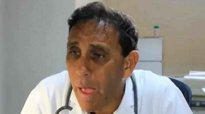Doctro Cruz Jiminián afectado de coronavirus.