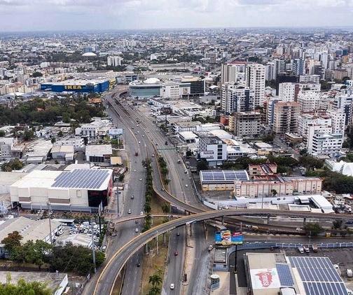 Panorama de la ciudad de Santo Domingo: Foto: @JeanSuriel