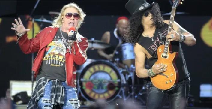 Por coronavirus, banda Guns N' Roses se suma a lista de conciertos suspendidos en RD