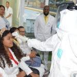 Decenas de personas con gripe acuden a hospitales asustadas. Fuente externa.